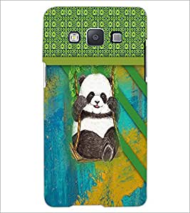 PrintDhaba Panda D-3768 Back Case Cover for SAMSUNG GALAXY A5 (Multi-Coloured)