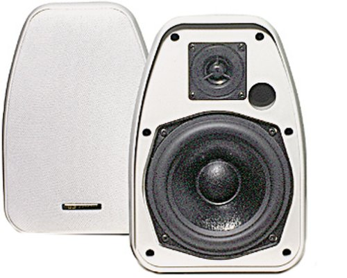 BIC America Adatto DV52siW 2-Way 5.25-Inch Indoor/Outdoor Speakers, White (Pair)