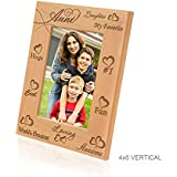 Kate Posh - My Awesome, Cool, Favorite, Loving Aunt Picture Frame (4x6 Vertical)