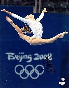 Nastia Liukin Autographed Photo - 11x14 - JSA Certified - Autographed Olympic Photos