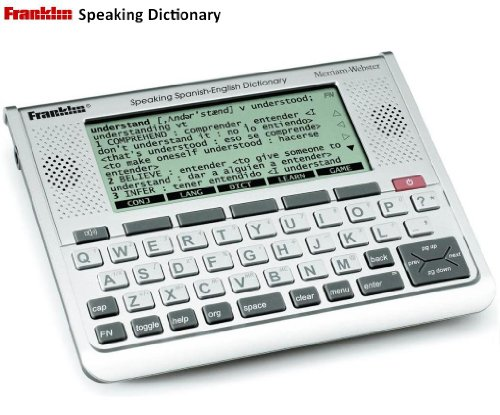franklin talking dictionary and spell corrector