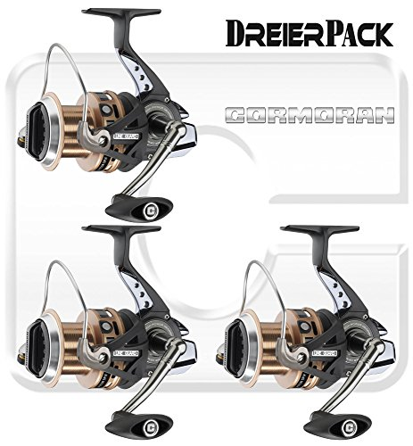 3 pcs. Cormoran Pitcor 5PiF – Longcast reel (triple pack)