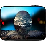 Snoogg Circled Beach On The DecK 2603 12 To 12.6 Inch Laptop Netbook Notebook Slipcase Sleeve