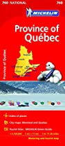 Quebec (Michelin National Maps)