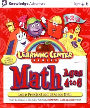 Learning Center Series Math Ages 4 to 6