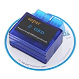 V1.5 Super Mini ELM327 Bluetooth OBD2 OBD-II CAN-BUS Diagnostic Scanner Tool