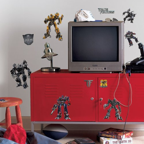 ROOMMATES RMK1091SCS Transformers 3 Peel & Stick Wall Decals - 1
