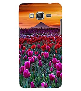 ColourCraft Lovely Flowers Design Back Case Cover for SAMSUNG GALAXY GRAND PRIME G530H