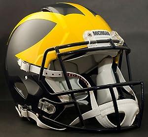 MICHIGAN WOLVERINES NCAA Riddell Revolution SPEED Football Helmet by ON-FIELD