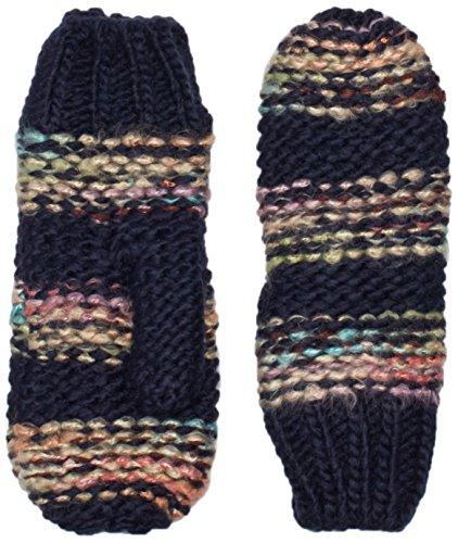 PIECES 17069354-Guanti Donna    Multicolore (Navy Blazer) L