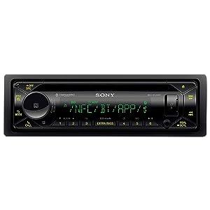 Sony MEX-N5300BT Car Stereo Single Din Radio with Bluetooth, CD Player, USB/AUX (Tamaño: Single DIN)
