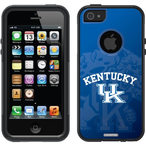 Great Sale University of Kentucky - Watermark design on a Black OtterBox® Commuter Series® Case for iPhone 5s / 5