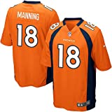 Peyton Manning Denver Broncos NFL Orange Game Jersey