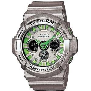 Casio Men's G-Shock GA200SH-8A Grey Plastic Quartz Watch