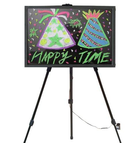 Led Backlit Electronic Eraseable Blackboard Menu / Sign - Cheap Holiday Deals