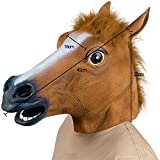 Novelty Latex Horse Head Mask Gangnam Style