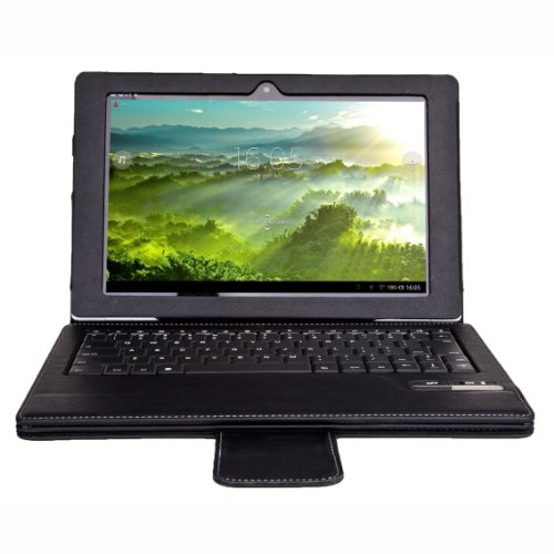 Lankdeals SONY Xperia Tablet Z SGP312 10.1 Bluetooth Keyboard ケース(取り外す可能)