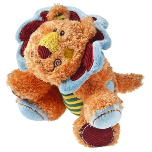 "Mary Meyer Cheery Cheeks Lil' Lively Lion 7"" - 1"