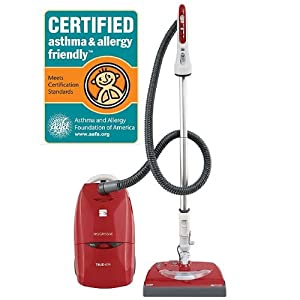 Kenmore 21714 Progressive Canister Vacuum Cleaner Red w/ Swivel Plus Steering System