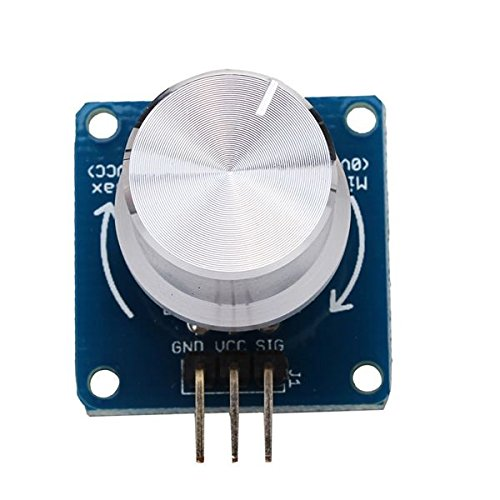 Adjustable Potentiometer Volume Control Knob Switch Rotary Angle Sensor Module For Arduino (Volume Knob Usb compare prices)