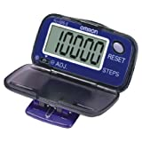 Omron HJ005-E Step Counter Pedometer With Large Lcd Display