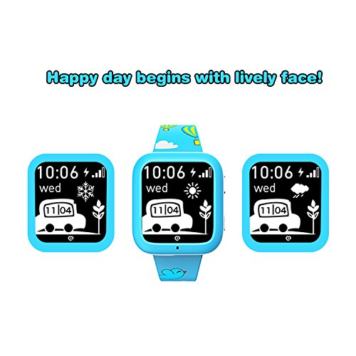 Smart Watch GPS Tracker with Phone Call miSafes Kid's Watcher Sports