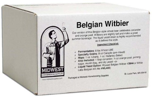 Homebrewing Kit: Belgian Witbier w/ Safbrew T-58 dry yeast