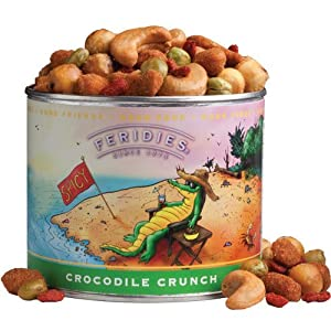 8oz Can Crocodile Crunch - Fun from The Peanut Patch, Inc.