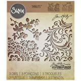 Sizzix 661185 Mixed Media #2 Thinlits Die Set by Tim Holtz (3 Pack)