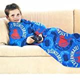 Dr Who Dalek Exterminate Blue Red Snuggle Fleece Blanket OFFICIAL