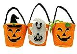 Madrugada みんなでお菓子をもらおう! ハロウィン お菓子入れバッグ ミニサイズ 3タイプ セット コスチューム用小物 S521