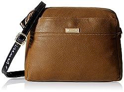 Gussaci Italy Women's Handbag (Brown) (GC333)