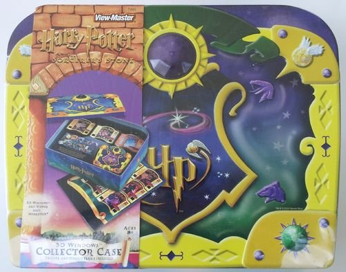 Harry Potter and the Sorceror's Stone 3D Windows Collectors Case for View Master - 1