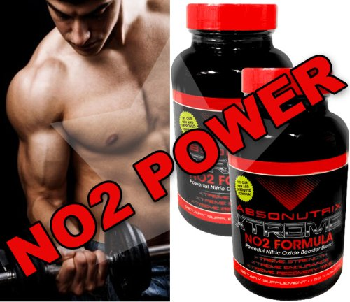 Absonutrix Extreme No2 - 3000Mg Of No2 Power - 240 Tablets! Xtreme Strength -Xtreme Endurance - Xtreme Recovery Time