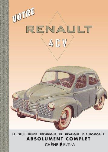 Votre Renault 4CV en ligne