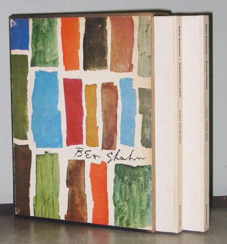 Ben Shahn: Paintings & His Graphic Art. 2 volumes in slipcase.
