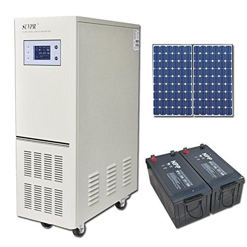 Suvpr 1500W 24V Off-Grid Solar System Pure Sine Wave Solar Power System