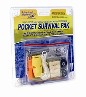 Tactical First Aid Kit: Adventure Medical Kits Pocket Survival Pack from Adventure Medical Kits