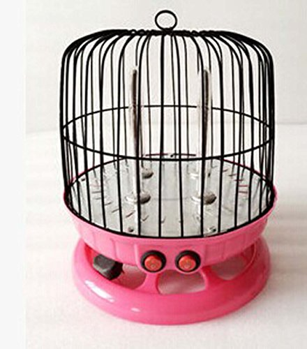 Tree Ccc Lovely Heater Cage Shape Mini Heater (One Size, Red)