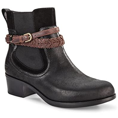 UGG Australia Womens Krewe Boot Black Size 6