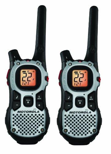 Motorola MJ430R Two-Way GMRS Radio (Silver)