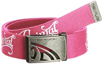 Animal Women's Alabama Belt, Carnation Pink, Medium (Manufacturer Size:One Size)