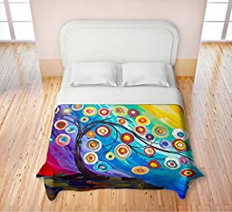 Duvet Cover Fleece Toddler, Twin, Queen, King from DiaNoche Designs by Lam Fuk Tim Home Decor and Bedding Ideas Unique Designer Decorative - Full of Fruits