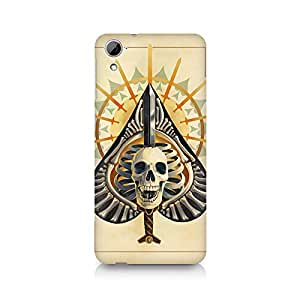 Mobicture Skull Abstract Premium Printed Case For HTC Desire 826