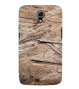 PrintVisa Wooden Flakes Pattern 3D Hard Polycarbonate Designer Back Case Cover for Samsung Galaxy Mega 6.3