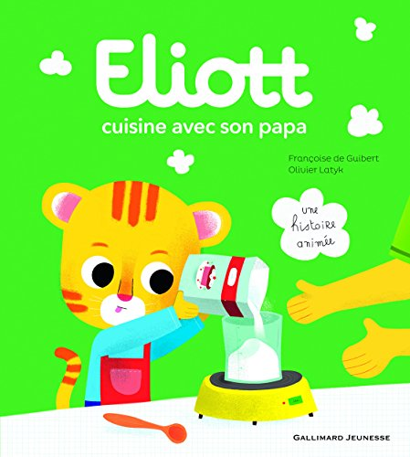 ELIOTT (1) : Eliott cuisine avec son papa