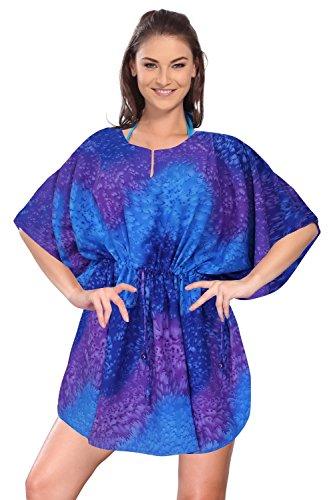 La Leela Super donne likre kimono coulisse onde spruzzi d'acqua