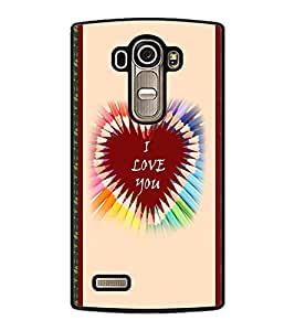 PrintDhaba Quote D-3779 Back Case Cover for LG G4 (Multi-Coloured)