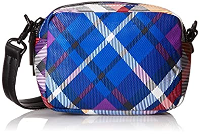 French Connection Contempo Mini Cross Body Bag,Plaid Multi,One Size