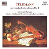 Six Sonatas for two Flutes, Op. 2 ~ Georg Philipp Telemann